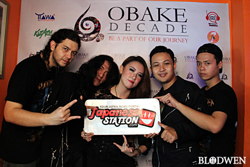 [Video Liputan] OBAKE DECADE, HAPPY 10th ANNIVERSARY OBAKE band! Wish you all the very best!