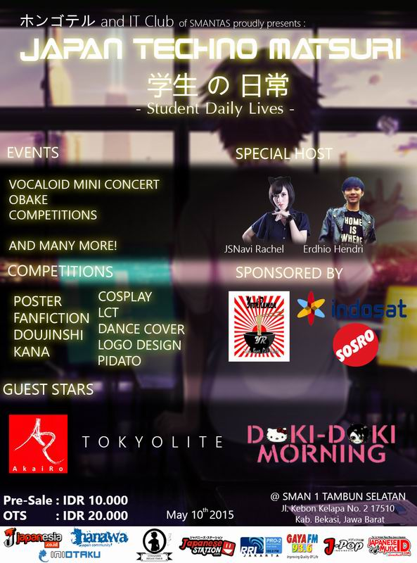 10 Mei 2015 - Japan Techno Festival 2015!