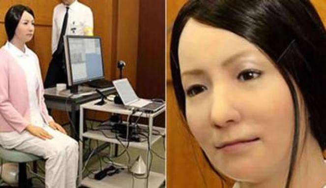 Robot wanita (Genius Beauty)