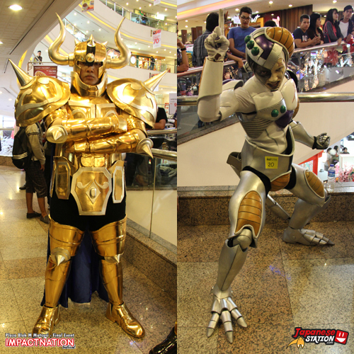 16 Cosplayer Taurus Frieza
