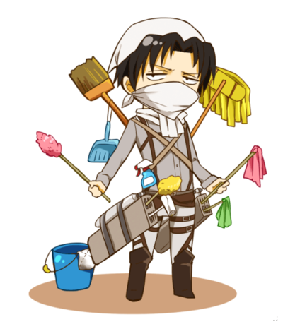 Foto: knowyourmeme.com http://knowyourmeme.com/photos/708044-cleaning-levi
