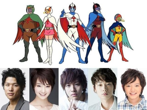 "Adaptasi Live-Action Anime Klasik ""Gatchaman"""