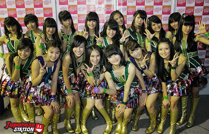 [SPESIAL] JKT48 di Yahoo! OMG Awards (Interview,Photo & Video) Part 2