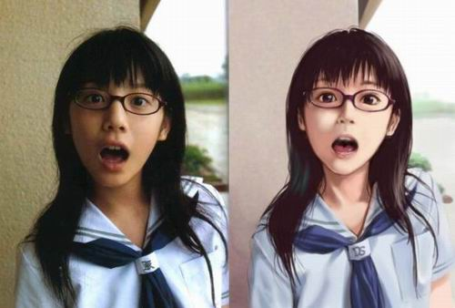 anime-vs-reallife-japan
