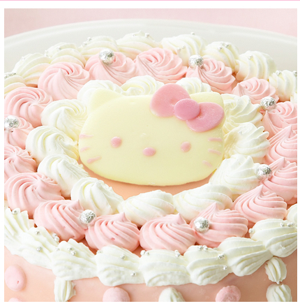 christmas cake 09 - hellokitty