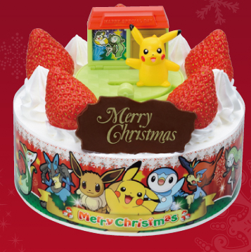 christmas cake 10 - pokemon