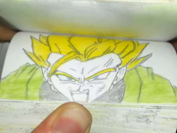 dragonball-flipbook