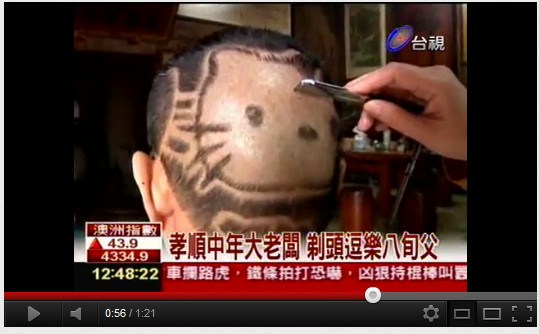 hello kitty haircut 03