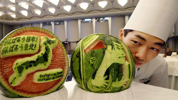 watermelon carving 01
