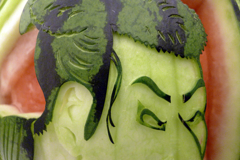 watermelon carving 03