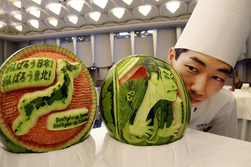 watermelon carving 04
