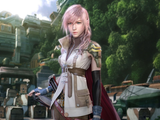final fantasy girls - lightning