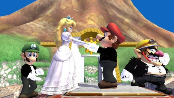 mario and peach married 5