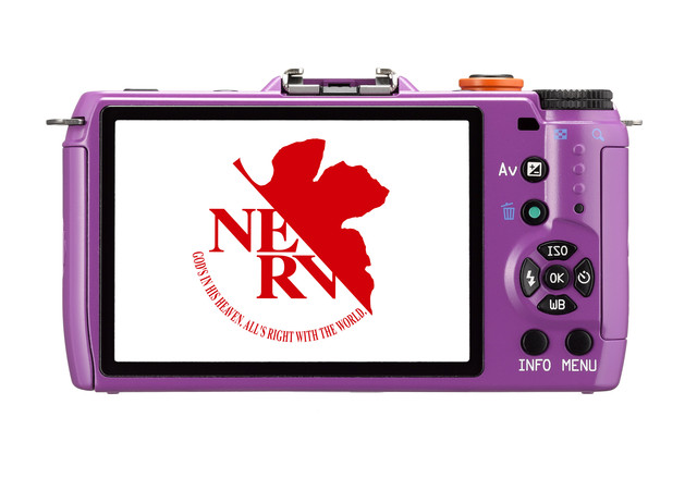 pentax q10 - nerv start-up screen