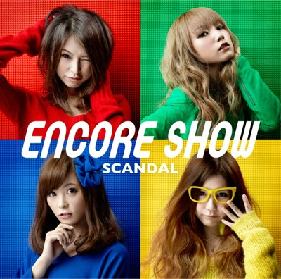 SCANDAL ENCORE SHOW Regular cover