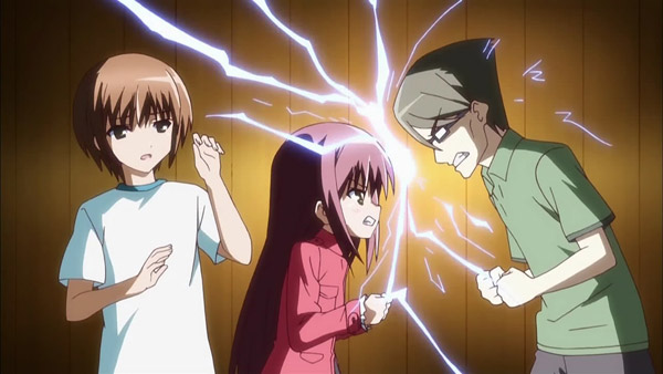cute - quarrel in anime - resize