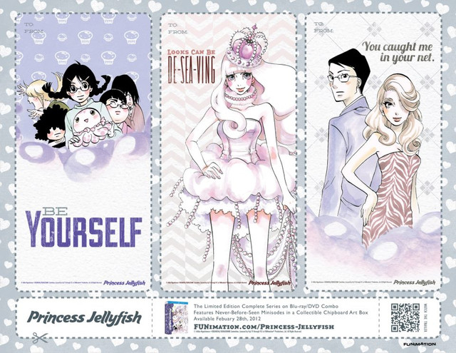 funimation valentine card - princess jellyfish 01