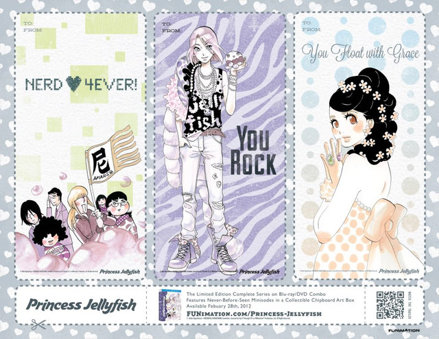 funimation valentine card - princess jellyfish 02