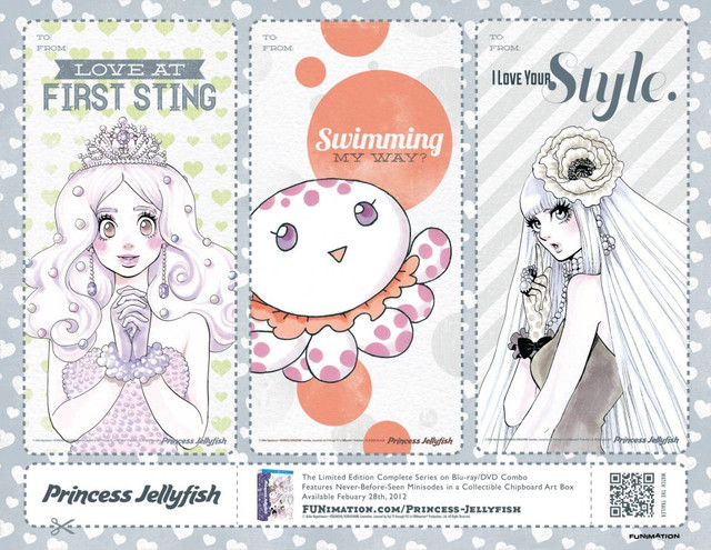 funimation valentine card - princess jellyfish 03