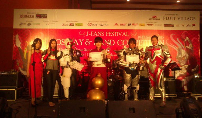 """J-FANS FESTIVAL """"Cosplay & Band Competition"""""""