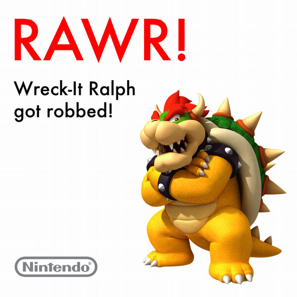wreck-it-ralph - king bowser
