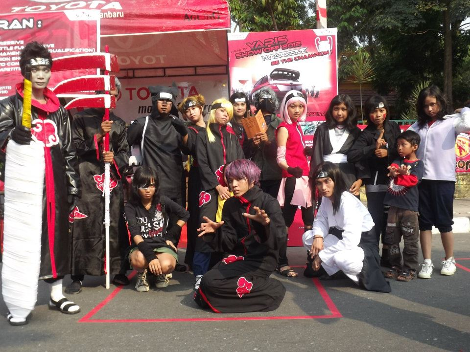 3. Parade Cosplay di Car Free Day (CFD) Pekanbaru