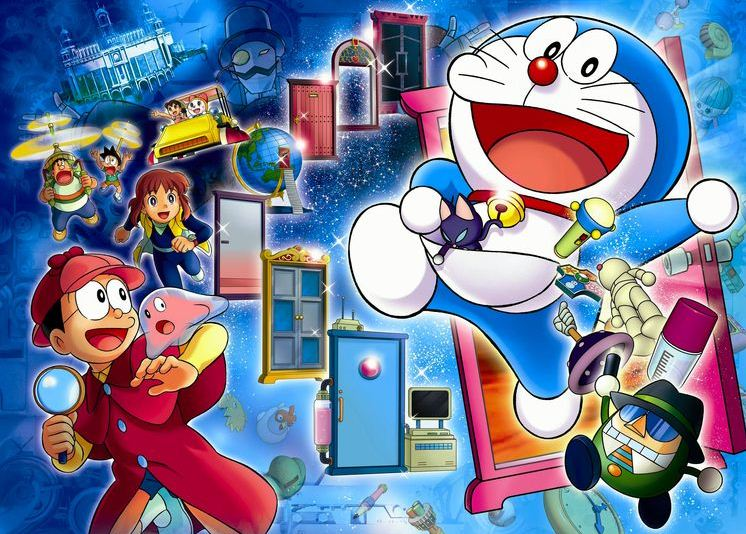doraemon - most popular character in japan