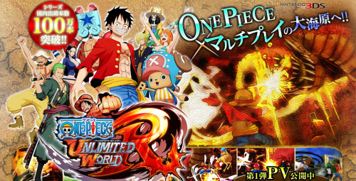 PV One Piece: Unlimited World Red Dirilis!