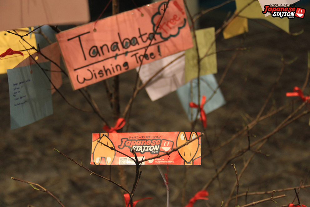 04 Tanabata wish tree with Japanese Station