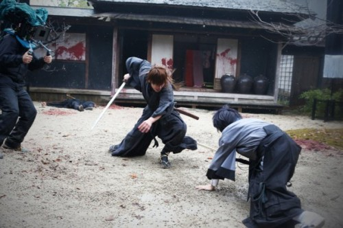 rurouni kenshin behind the scene (3)