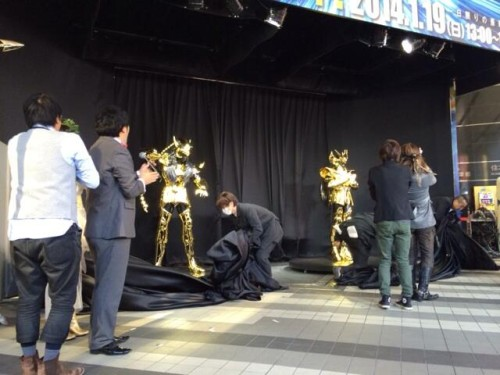 saint seiya gold cloth