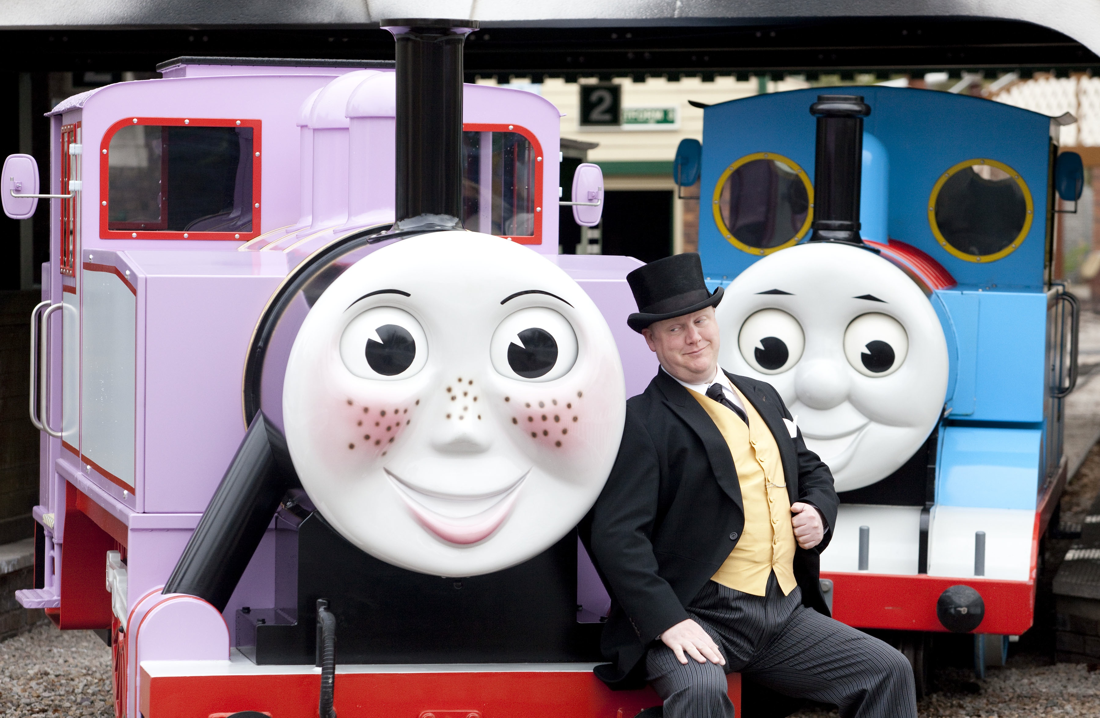 Rosie-Thomas-and-Fat-Controller