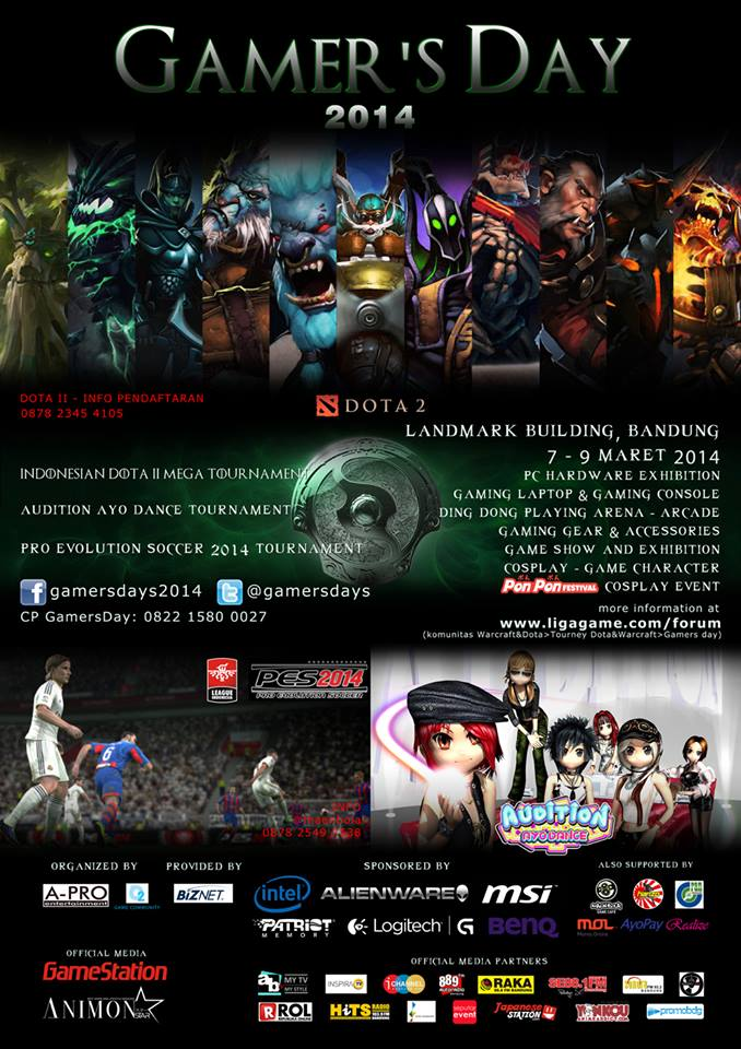 gamers days 2014