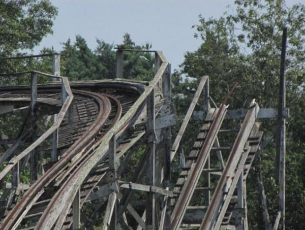 10 Most Incredible Abandoned Roller Coasters 13