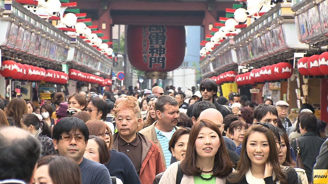 Visitors to Japan hits record 1.05 million in March