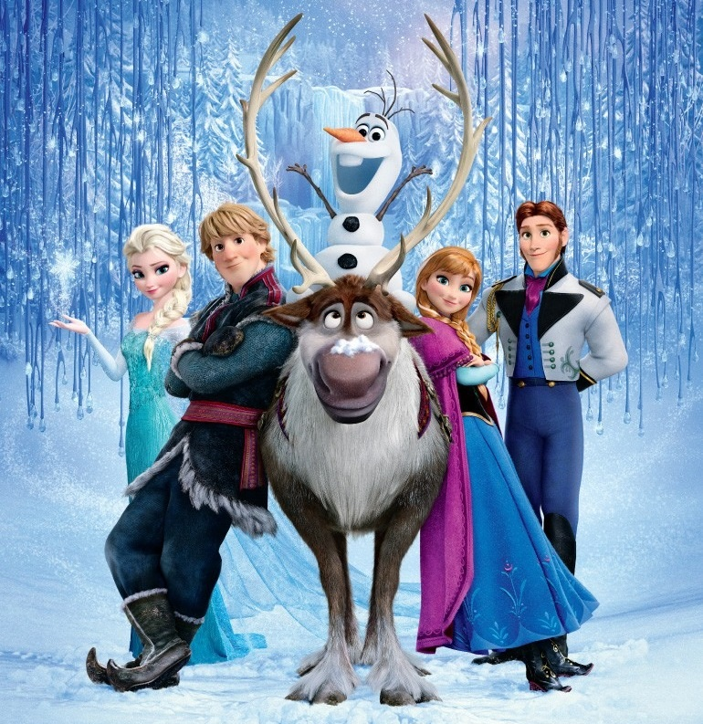 Frozen-cast-poster