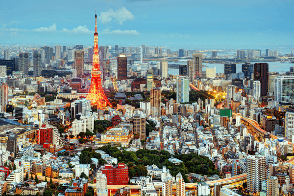 Tokyo-Tower-Japan-panoramic-cityscape