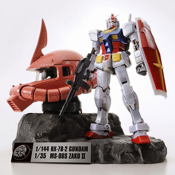 Mobile Suit Gundam 35th Gundam Premium Set 01
