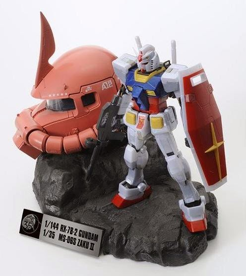 Mobile Suit Gundam 35th Gundam Premium Set 04