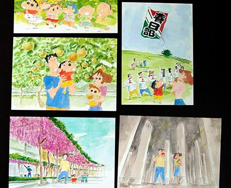 shinchan postcard2