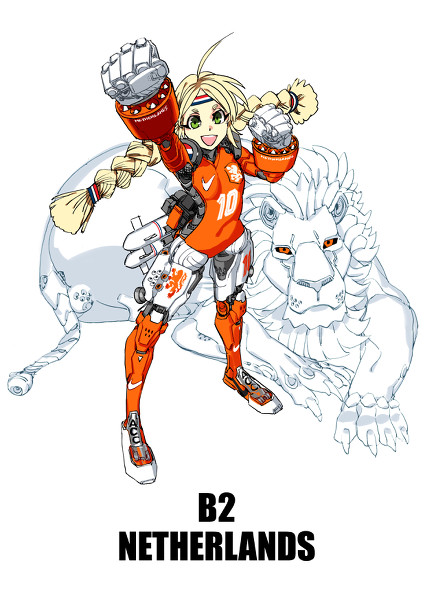 world cup team anime girl (5)