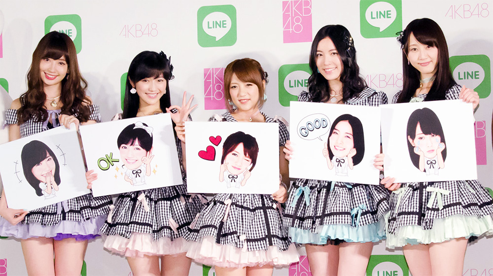akb48-line-sticker-set