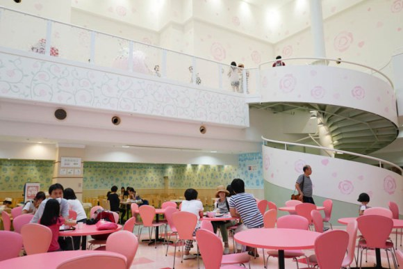 hello kitty food court (2)