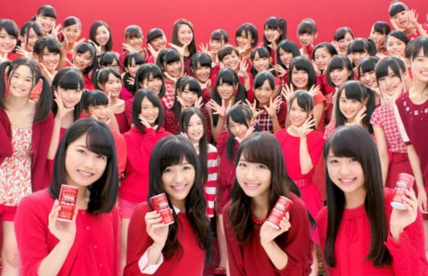 AKB48-and-Wonda-Coffee-Give-the-47-Prefectures-of-Japan-a-Morning-Wake-Up-620x400