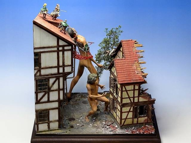 attack on titan diorama (1)