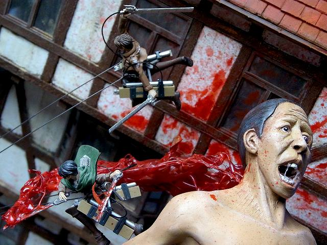 attack on titan diorama (16)