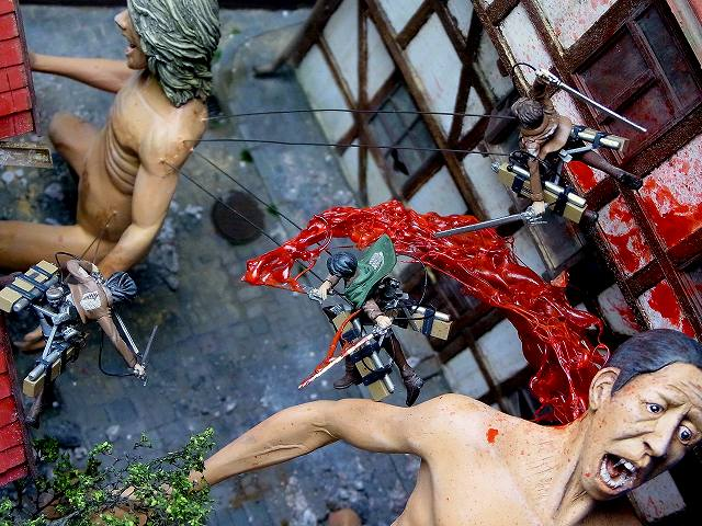 attack on titan diorama (18)
