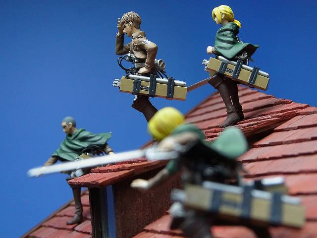 attack on titan diorama (5)