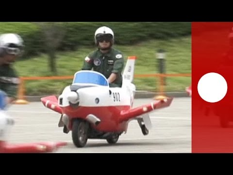 japan air force scooter