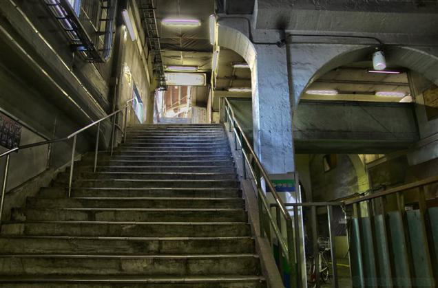Japan's Scariest-Looking Train Stations (9)